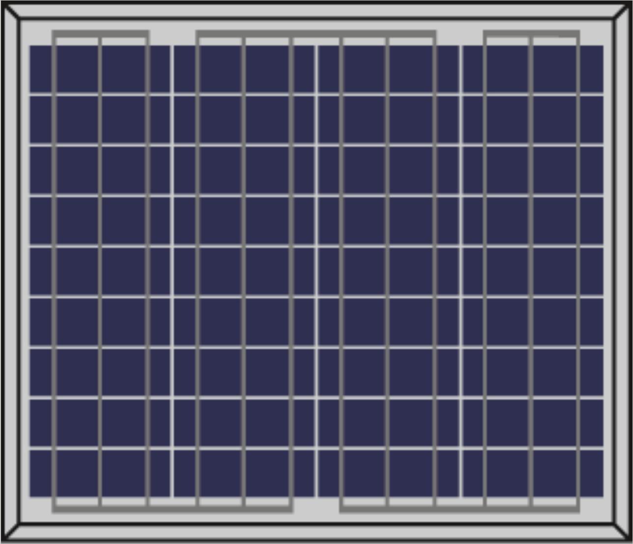 แผงโซล่าเซลล์ Poly 10w Solar Panel Diy Solarcell