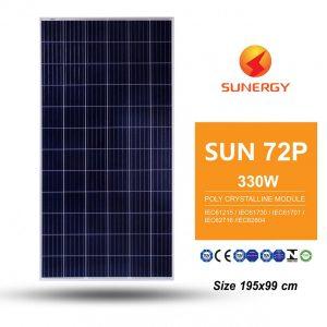 Solar Panel Poly Crystalline 330W